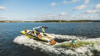 All-New Tige RZX20 - 20 foot Wakesurf, Wakeboard, and Ski boat