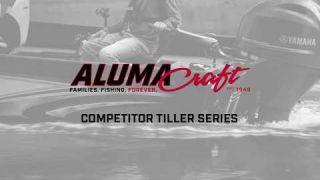 Alumacraft 2018 Competitor Tiller Series