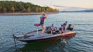 Triton 189 TRX Fiberglass Bass Boat